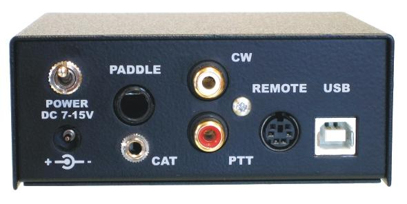 USB CW KEYER, WinKey based external CW Keyer